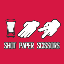 Shot Paper Scissors logo