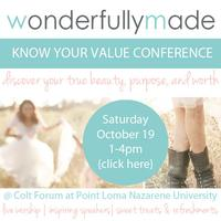Wonderfully Made: Know Your Value Conference