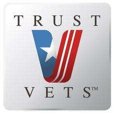 TRUST VETS logo