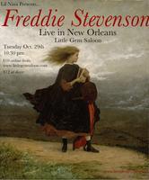 FREDDIE STEVENSON