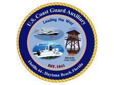 U. S. Coast Guard Auxiliary Flotilla 44 - Daytona Beach, FL logo