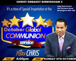 October 2013 Global Communion Service with Pastor Chris