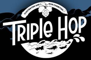 Triple Hop - Illustration & Beer Exhibition