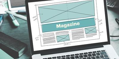 Workshop sulla progettazione di un magazine per il web.
