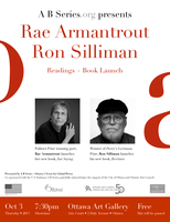 Rae Armantrout & Ron Silliman - Readings + book launch!