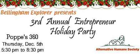 3rd Annual Entrepreneur Holiday Party