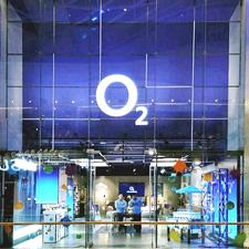 O2 Westfield Store of the Future logo