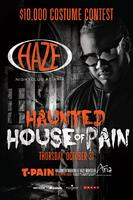 Haunted House of Pain with T-Pain at HAZE Nightclub