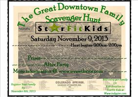 The Great Downtown Family Scavenger Hunt