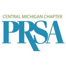 Central Michigan Public Relations Society of America (CMPRSA) logo