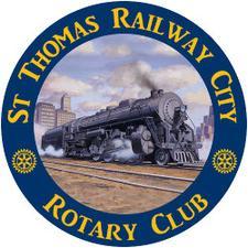 St. Thomas Railway City Rotary Club logo