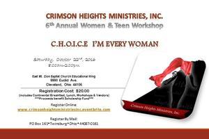 Crimson Heights Ministries, Inc. Annual Women & Teen...