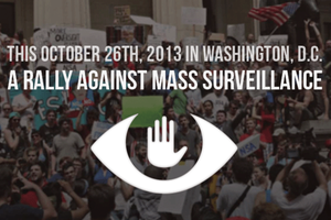 10/26 Rally Against Mass Surveillance - Round Trip Bus...