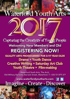 Waterford Youth Arts Ltd.  logo