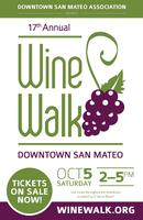 Downtown San Mateo Wine Walk 2013