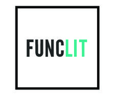 Functionally Literate: a literary function logo