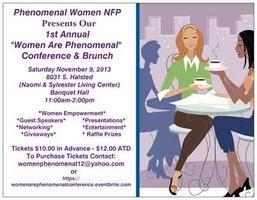 "Phenomenal Women NFP 1st Annual ""Women Are Phenomenal""..."
