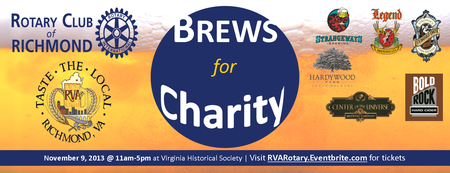Rotary's Brews for Charity