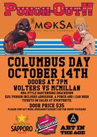 Columbus Day Bartender Smackdown at Moksa