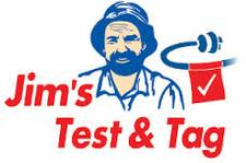 Jim's Test & Tag and Fire Safety logo