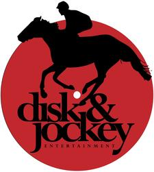 DISK AND JOCKEY ENTERTAINMENT logo