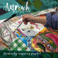 Artreach Studios - Children's Workshops logo