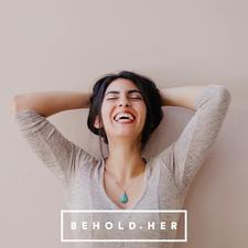 BEHOLD.HER by Leah Beilhart  logo