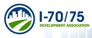 I-70/75 Development Association October 2013...