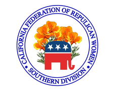 California Federation of Republican Women, Southern Division logo