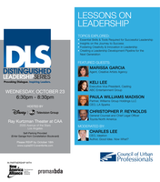 Distinguished Leadership Series Event