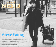 Caffe Nero & Steve Young logo