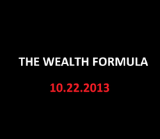 The Wealth Formula