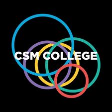 CSM College logo