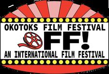 Okotoks Film Festival Society logo
