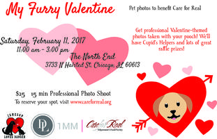 My Furry Valentine: Pet Photos To Benefit Care For Real Tickets, Sat, Feb  11, 2017 At 11:00 AM | Eventbrite