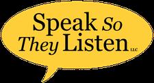 Speak So They Listen, LLC logo