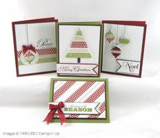 Quick and Stylish Holiday Cards Stamping Class
