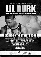 LIL DURK : LIVE IN HOUSTON, TX : AT WAREHOUSE LIVE :...