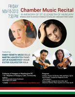 Chamber Music Recital in Memory of St. Elizabeth of...