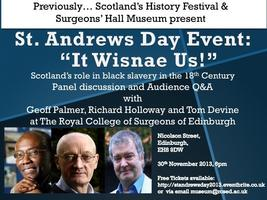 St. Andrews Day Event - 'It Wisnae Us!'
