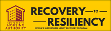 Recovery to Resiliency: Sandy Recovery Program logo