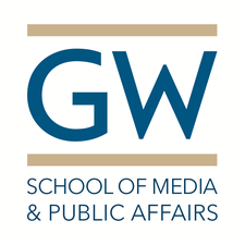 The School of Media and Public Affairs logo