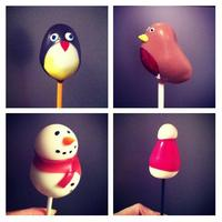 Learn to make Christmas cake pops with Delish!