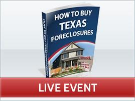 How to Buy Texas Foreclosures: Addison **LIVE**