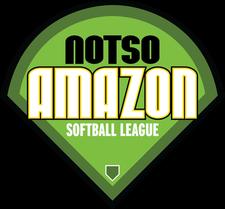 Notso Amazon Softball League logo
