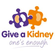 Give a Kidney - one's enough logo