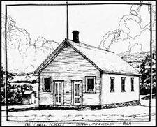Historic Cahill School logo