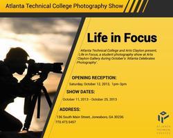 Atlanta Technical College Photography Show