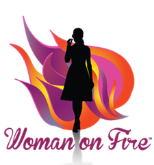 Woman on Fire org logo