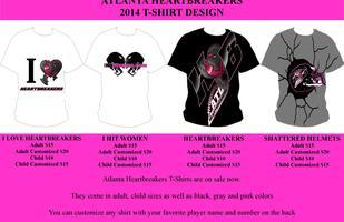 Atlanta Heartbreakers T-Shirt